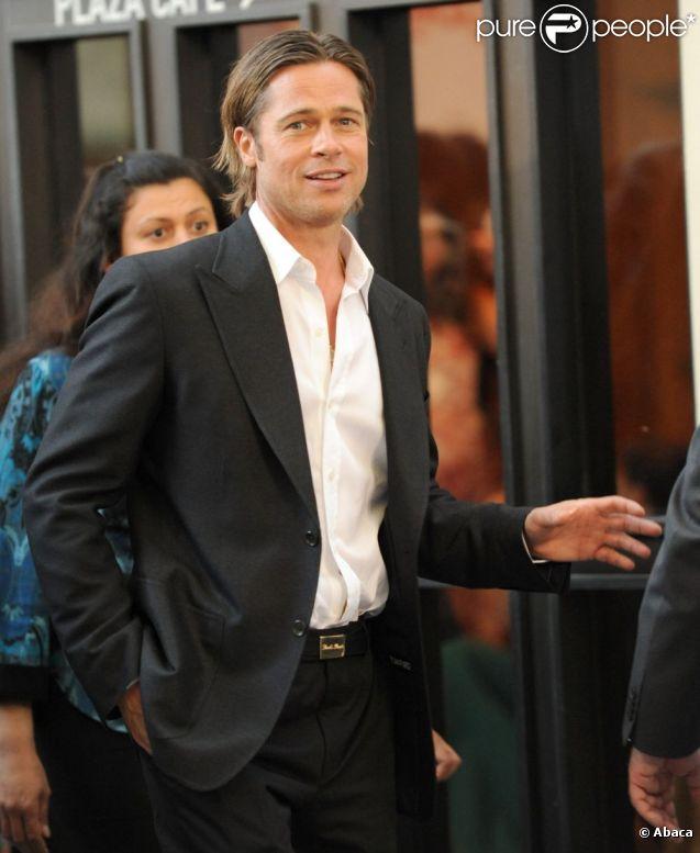 Brad Pitt à Los Angeles, en 2011.