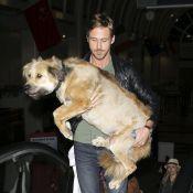 Ryan Gosling : Jamais sans son chien... et son adorable assistante