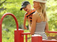Karolina Kurkova : tendre moment avec son adorable fiston