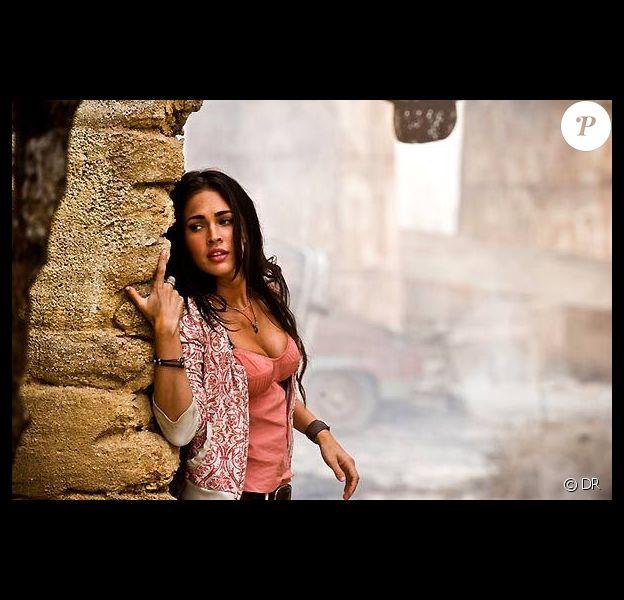 Megan Fox dans Transformers. Une bombe est née