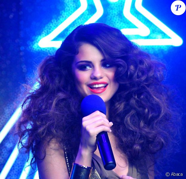 Selena Gomez, sur le tournage de son clip I love you like a love song, en mai 2011.