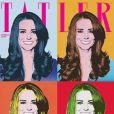 Kate Middleton en couverture de Tatler magazine en février 2011
