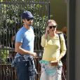 Natalie Portman et Benjamin Millepied à Los Angeles en février 2011