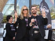Ringo Starr fête ses 71 ans aux côtés de sa belle Barbara Bach et de ses fans