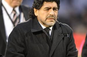 Diego Maradona : Impliqué dans un accident de voiture contre un bus
