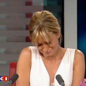 Audrey Crespo-Mara ne peut retenir ses larmes pour sa dernière matinale