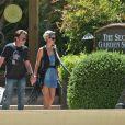 Johnny et Laeticia Hallyday font leurs courses à Las Vegas avant leur départ pour Saint-Barth