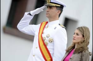 Letizia d'Espagne : au bras de son Felipe, la princesse a déjà tout d'une reine
