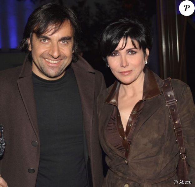 Liane Foly et André Manoukian, en 2007, à Bobino.