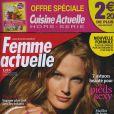 Couverture du magazine Femme Actuelle, en kiosques le 18 juillet 2011.
