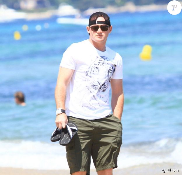 Wayne Rooney et sa femme Coleen en vacances à St Tropez du 30 juin au 2 juillet 2011
