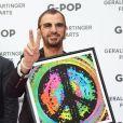Ringo Starr était présent à l'inauguration de son exposition  The art of Ringo Starr , le 17 juillet 2011 à Vienne.