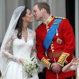 Kate Middleton et le prince William le jour de leur mariage, le 29 avril 2011, à Londres.