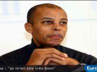 Stéphane Diagana, six mois après l'accident, évoque la réaction de ses enfants