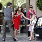 Denise Richards a fêté l'arrivée de son bébé, avec ses filles et ses proches