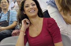 Nicole Johnson : La chérie de Michael Phelps, Miss California, se fait remarquer