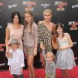 Alexa et Mackenzie Vega lors de l'avant-première du film Spy Kids 4 : All the time in the world à Los Angeles le 31 juillet 2011
