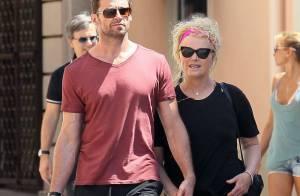 Hugh Jackman et son épouse : Pause tendresse sans leurs bouts d'chou