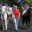Zara Phillips, mariée depuis le 30 juillet 2011; était déjà de retour aux affaires le 2 août 2011, pour procéder au lancement officiel de sa ligne de vêtements d'équitation pour enfants, ZP 176 Kids, élaborée avec l'équipementier Musto. Ses demoiselles d'honneur Nell Maude et Jazz Jocelyn ont joué les mannequins.
