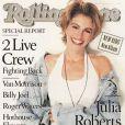 Julia Roberts décroche la couverture du  Rolling Stone  en août 1990.