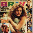 Septembre 1990 : Julia Roberts réalise la couverture du magazine allemand  Bravo .