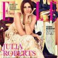 La glamour Julia Roberts en couverture du  Elle  serbe d'octobre 2010.