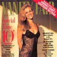 C'ets une sexy Julia Roberts en nuisette qui pose pour le  Vanity Fair  américain en octobre 1993.