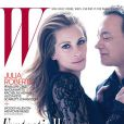 Julia Roberts et Tom Hanks posent en couple pour la couv' du magazine  W  de juin 2011.
