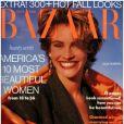 Julia Roberts en couverture du  Harper's Bazaar  de septembre 1990.