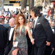Ornella Muti au Festival de Cannes, le 14/05/08
