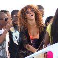 Rihanna en vacances à La Barbade, le 6 août 2011. C'est un peu un retour aux sources ce voyage. Riri a semble-t-il renouer avec son premier amour.