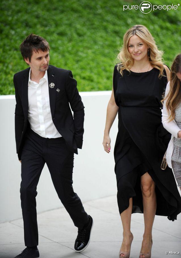 Kate Hudson et Matthew Bellamy à Malibu en juin 2011
