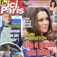 Couverture du magazine Ici Paris en kiosques le 17 août 2011