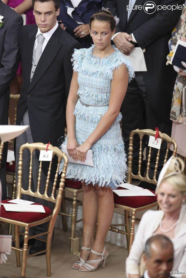 Pauline et Louis Ducruet au mariage du prince Albert et de Charlene