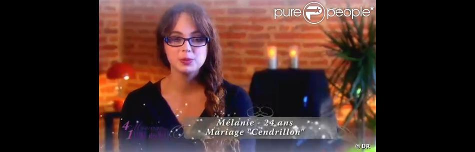 mlanie dans 4 mariages pour 1 lune de miel sur tf1 - 4 Mariages Pour Une Lune De Miel Divorce
