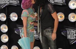 MTV VMA's : Baisers, regards, sourires... Les couples stars font leur show