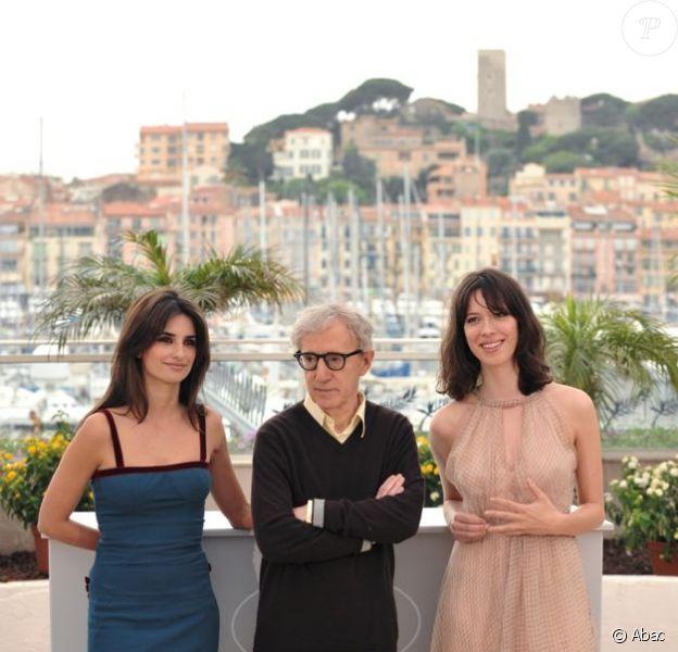 Penélope Cruz, Woody Allen et Rebecca Hall