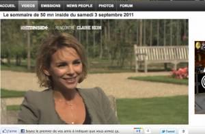 50 Minutes Inside : La délicate Claire Keim parle d'amour