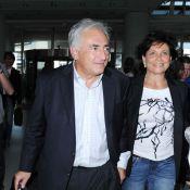 Dominique Strauss-Kahn et Anne Sinclair... retour ''triomphal'' à Paris