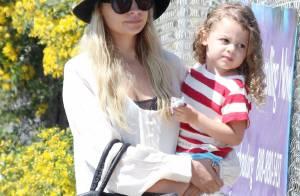 Nicole Richie : Sa craquante petite Harlow est sa première fan