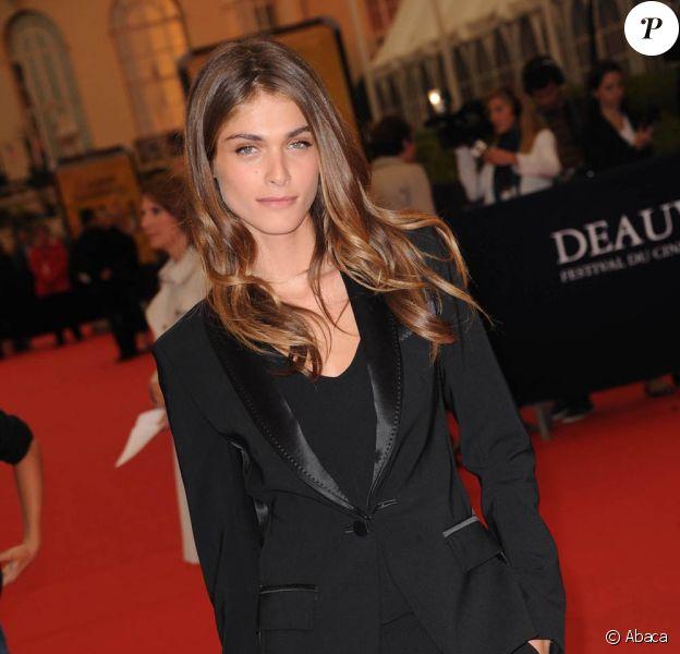 Elisa Sednaoui lors de la présentation du film Drive, au festival du cinéma américain de Deauville. 3 septembre 2011