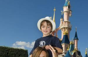 Mariska Hargitay : Avec ses enfants à Paris chez un certain... Mickey