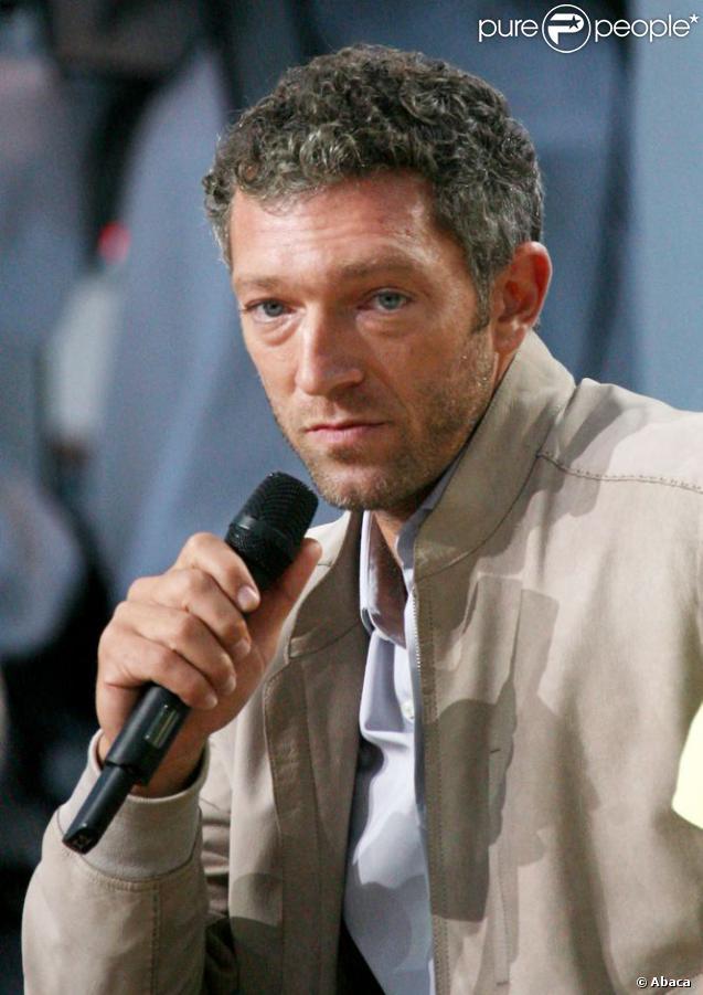 Vincent Cassel sur le plateau du Grand Journal à Cannes