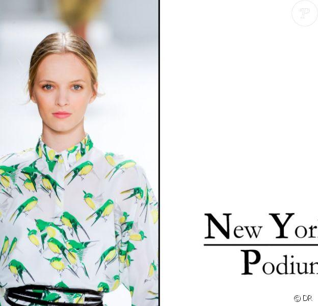 Les plus beaux beauty looks de la Fashion Week de New York.