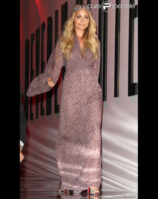 Nicole Richie à la Fashion Night Out à Los Angeles le 8 septembre 2011