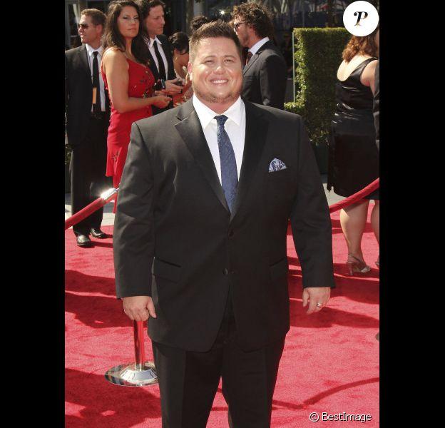 Chaz Bono, lors de la soirée des Creative Arts Emmy Awards, à Los Angeles, samedi 10 septembre 2011.