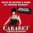 Le musical Cabaret revient à Paris à partir du 6 octobre 2011, et partira pour la première fois en tournée dès janvier 2012.