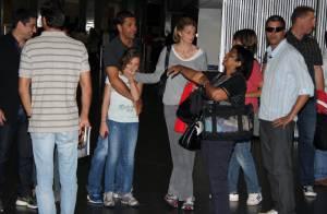 Athina Onassis : Pause tendresse avec Vivienne, fille de son époux Doda