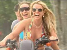 PHOTOS : Britney Spears est heureuse sur tout-terrain !