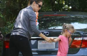 Violet Affleck : La fille de Jennifer Garner, enceinte, est coquine et craquante